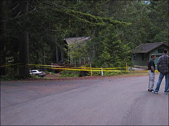 Man detained after deputies find murdered 5-year-old near Lake Cushman