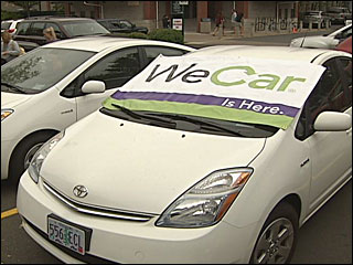 WeCar gives UO students access to a Prius by the hour or day