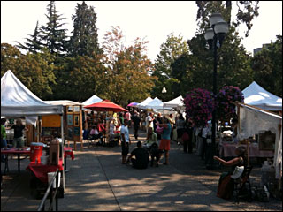 Tuesday Farmers Market continues through Oct. 27