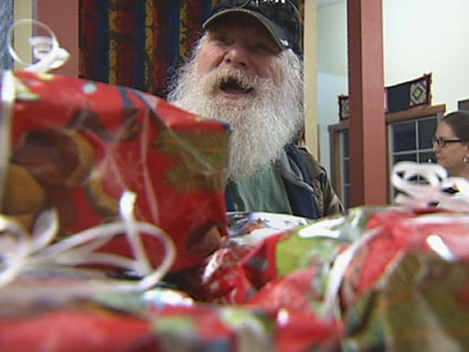 Camo Claus: 'This is what it's all about: community'