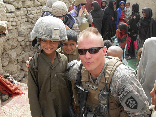 From Florence to Afghanistan: Catching up with Corbin McClanahan