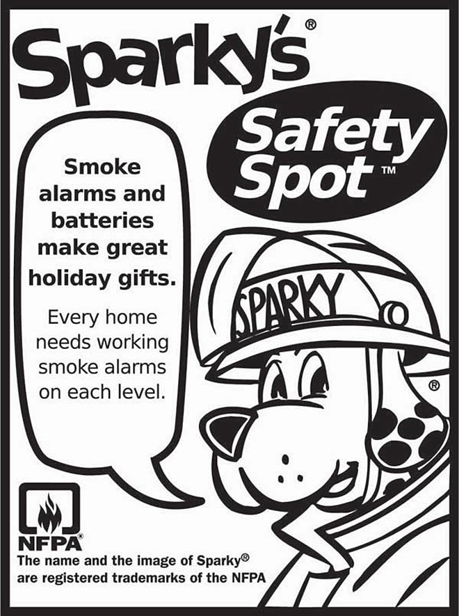 "Springfield Fire wants you to stay ""Fire Smart! Don't get Burned."""