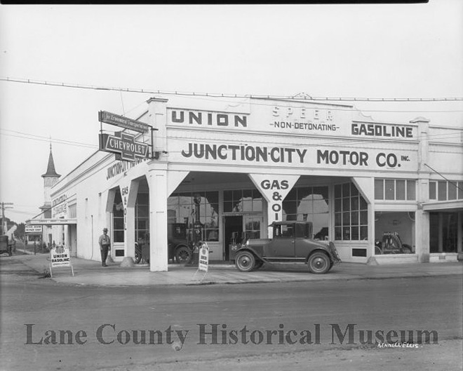 Historic photo collection includes Junction City images