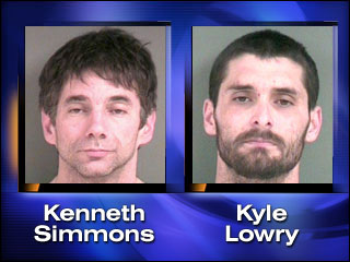 Eugene men charged with Florence burglary